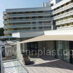 "Tensostruttura a vela ""Hotel Esplanade Tergesteo, Montegrotto Terme """