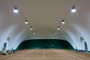 Palloni pressostatici per campi da tennis