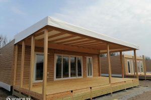 Copertura veranda in Precontraint 702 PVDF